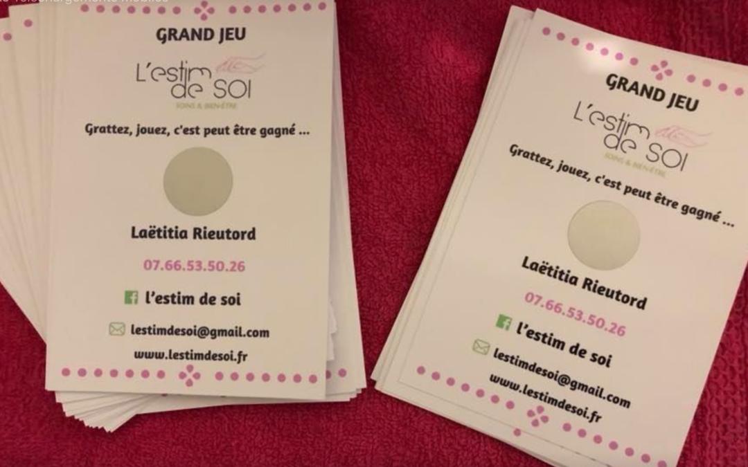 1€ reverser à la Ligue Contre Le Cancer de l'Oise, tenter votre chance nombreux lots à gagné 2€ la carte