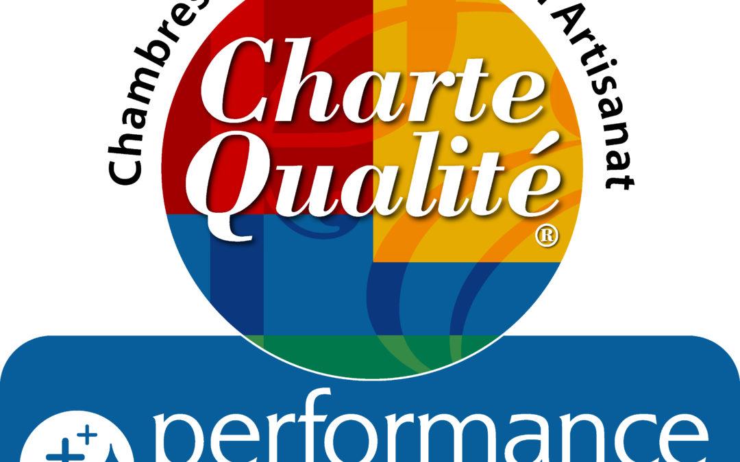 Nouvelle charte de qualité performance